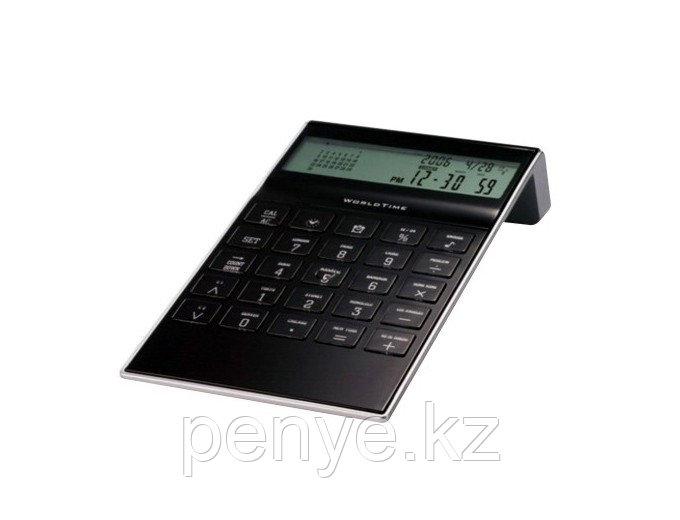Калькулятор/часы/будильник черный
