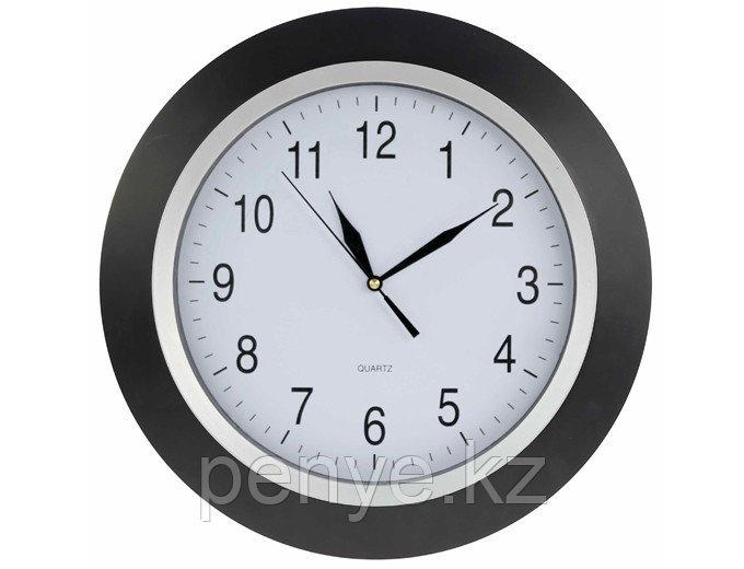 Настенные часы черные