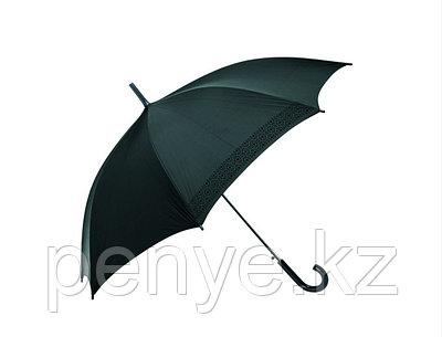 """Зонт складной автомат (21""""*14) черный"""