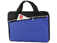 Конференц-сумка черно-синяя