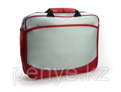 Конференц - сумка серо-красная