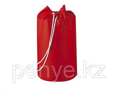 Пляжная сумка х/б красная