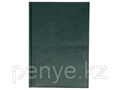 Датированный ежедневник А5 Frame (Фрэйм) темно-зеленый