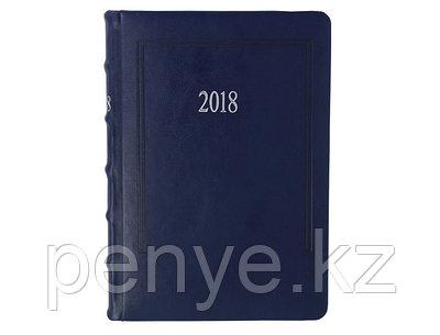 Датированный ежедневник А5 Foliant (Фолиант) синий