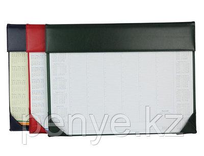 Настольный планер (без внутр.блока) зеленый