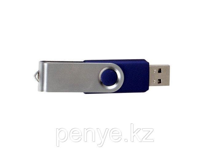 USB флеш память на 8Gb сине-белый