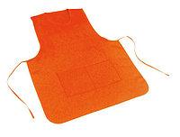 Фартук двухсторонний, цвет оранжевый