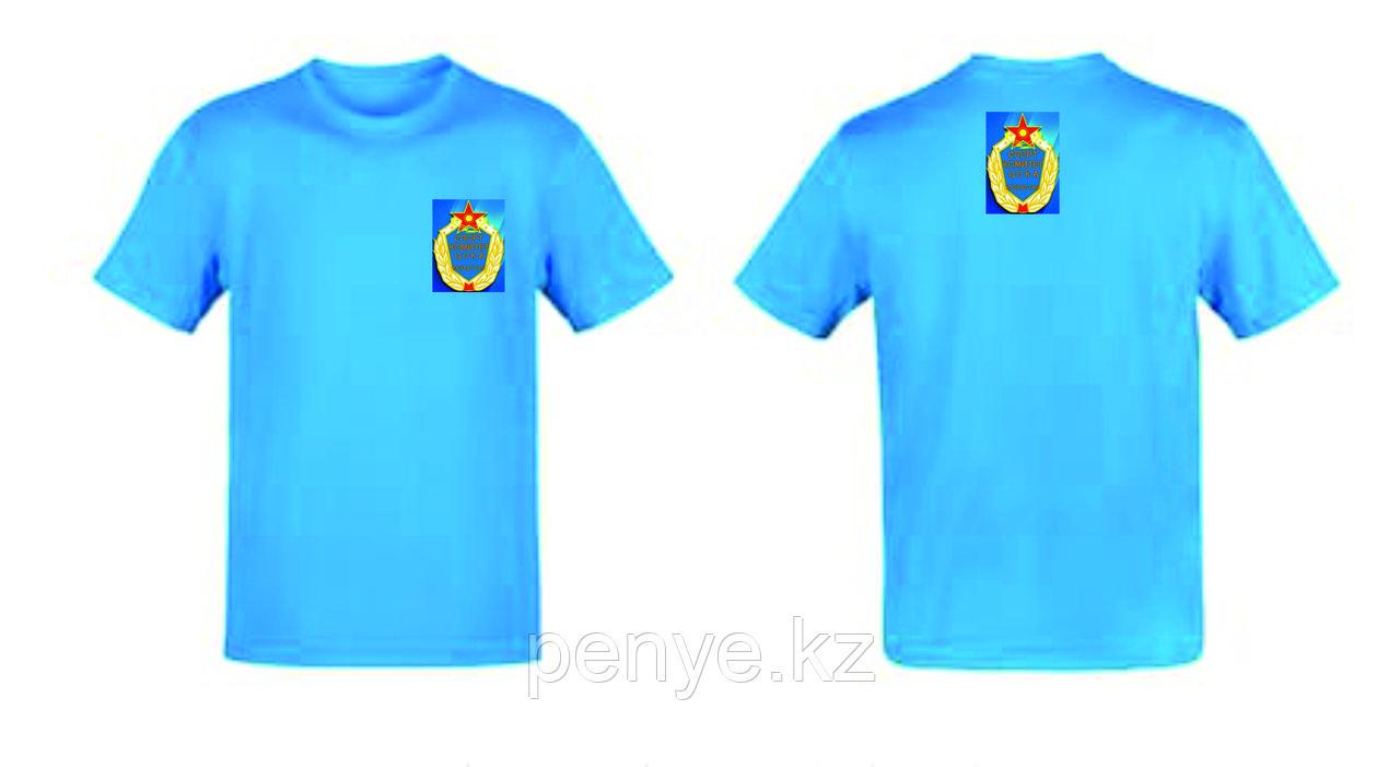Футболки Детские с нанесение логотипа 4+4