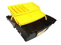 """Ящик для инструмента """"Mega Cantilever"""" пластмассовый с 2-мя консольными лотками STANLEY, 1-92-039,"""