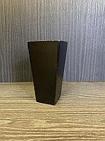 Ножка мебельная, деревянная прямая. 12 см