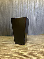 Ножка мебельная, деревянная прямая. 10 см