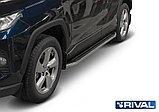 """Порог-площадка """"Premium"""" A180ALP + комплект крепежа, RIVAL, Toyota Rav 4 2019-, фото 3"""