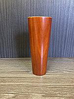Ножка мебельная, деревянная, конус 15 см