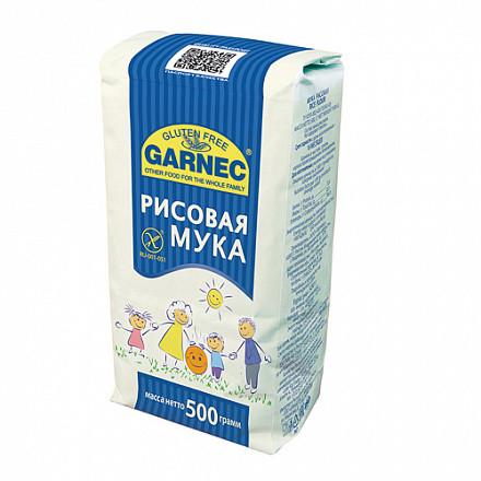 Мука Гарнец рисовая без глютена, 500 гр