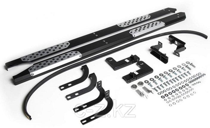 Пороги + комплект крепежа, RIVAL, Nissan Terrano 2014-2020, фото 2