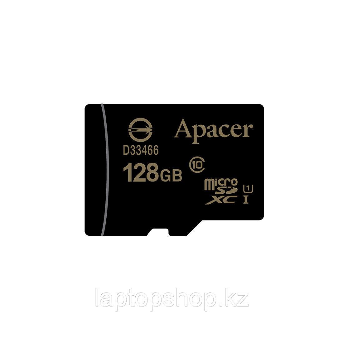 Карта памяти, Apacer, AP128GMCSX10U1-R, MicroSDXC 128GB