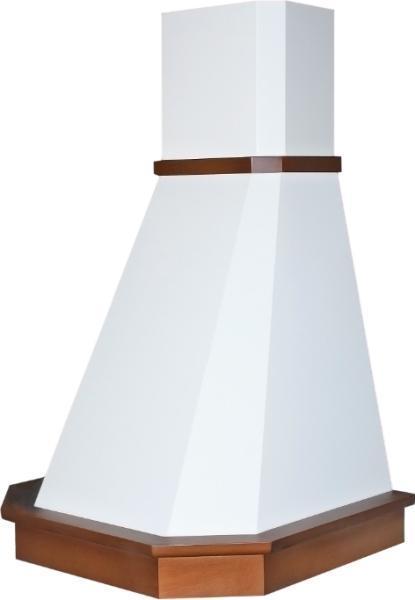 Вытяжки каминного типа ELIKOR Камин Грань 60П-650-ПЗЛ бежевый/бук орех