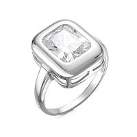 Серебряное кольцо с фианитом Красная пресня 2389972Д
