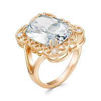 Серебряное кольцо с фианитом Красная пресня 2389413