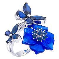 Кольцо из серебра Яхонт Ювелир 1178сс