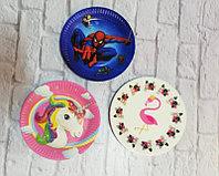 Товары для праздника brand 52327 Тарелки праздничные маленькие (10шт) (Emoji)