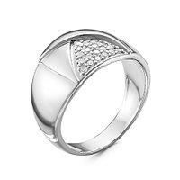 Серебряное кольцо с фианитом Красная пресня 2389758Д