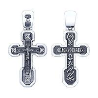 Крест из серебра с фианитом SOKOLOV 95120095