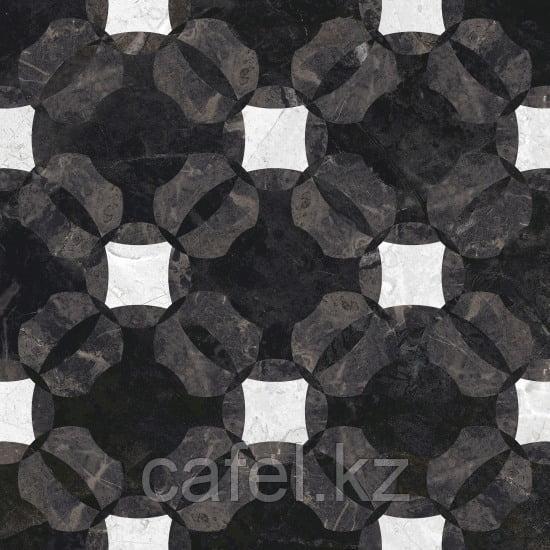 Керамогранит 42х42 - Куин | Queen многоцветный с узорами