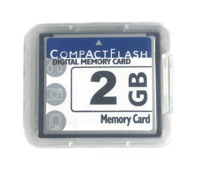 Карта памяти Compact Flash CF Card 2GB