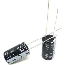 Конденсатор электролитический 470мкф 50в 10х17 мм