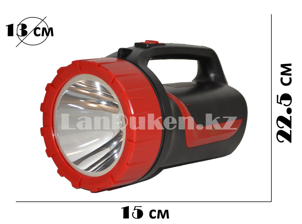 Ручной аккумуляторный светодиодный фонарь прожектор светодиодный KM-2636A