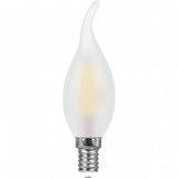 Лампа светодиодная филамент  (11W) 230V E14 2700K филамент С35T матовая