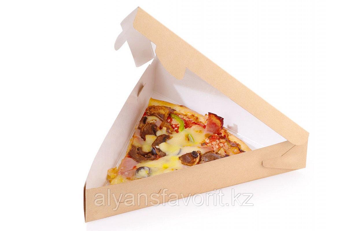 Уголок для пиццы Eco Pie, размер 220*220*40 мм.РФ
