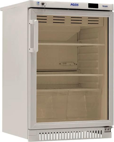 Фармацевтический холодильник  со стеклянной дверью POZIS ХФ-140-1