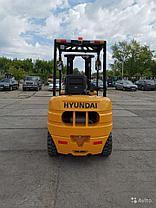 Дизельный вилочный погрузчик Hyundai 35D-7SA, 3,5 тн, фото 3