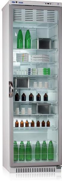 Фармацевтический холодильник со стеклянной дверью POZIS ХФ-400-3