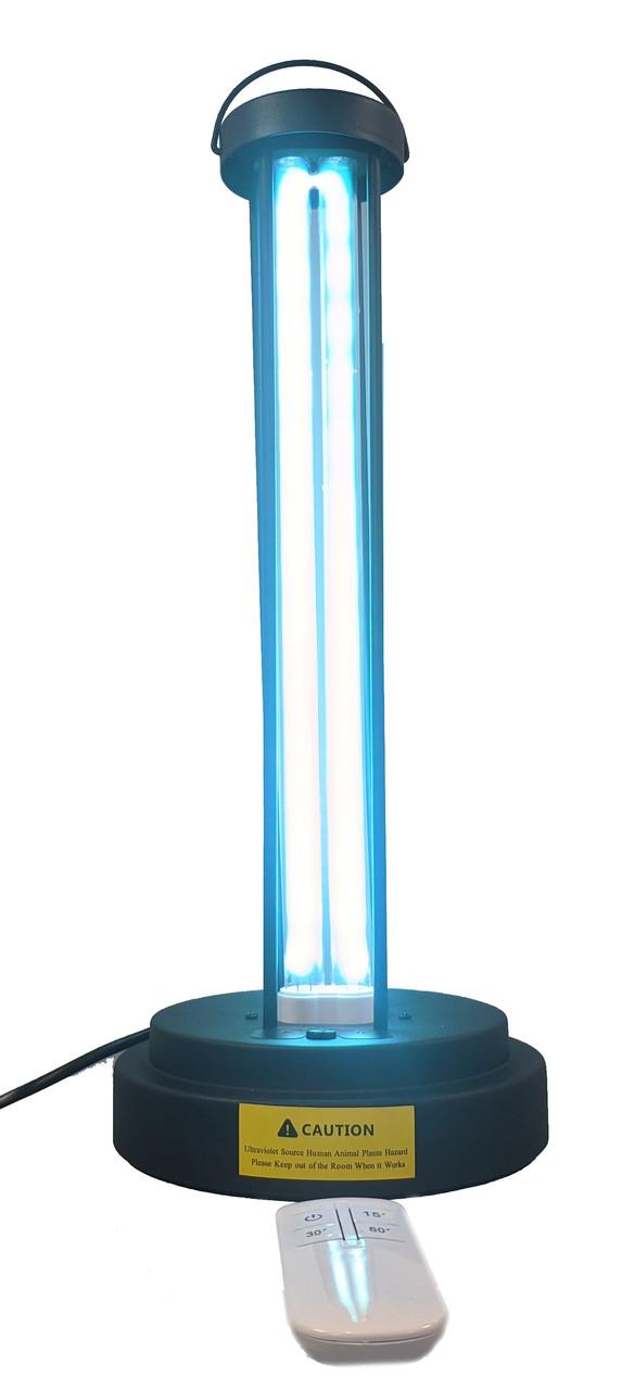 Бактерицидная кварцевая ультрафиолетовая лампа в металлическом корпусе