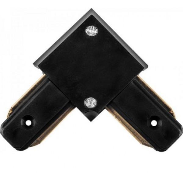 Коннектор угловой для шинопровода, черный