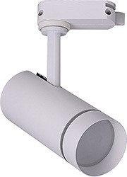 Трековый светодиодный светильник 12W, 1080 Lm, 4000К, 80 градусов, белый