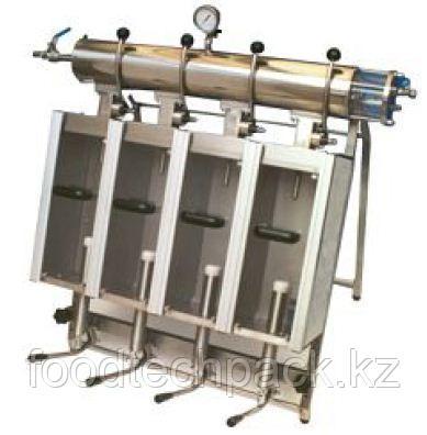 Ручной блок для изобарического розлива с 2-4 кранами  DURFO