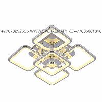 Светодиодная люстра 5 Квадратов