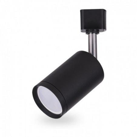 Светильник трековый под лампу GU10, черный