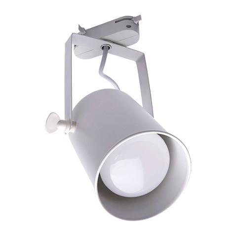 Светильник трековый под лампу E27, белый