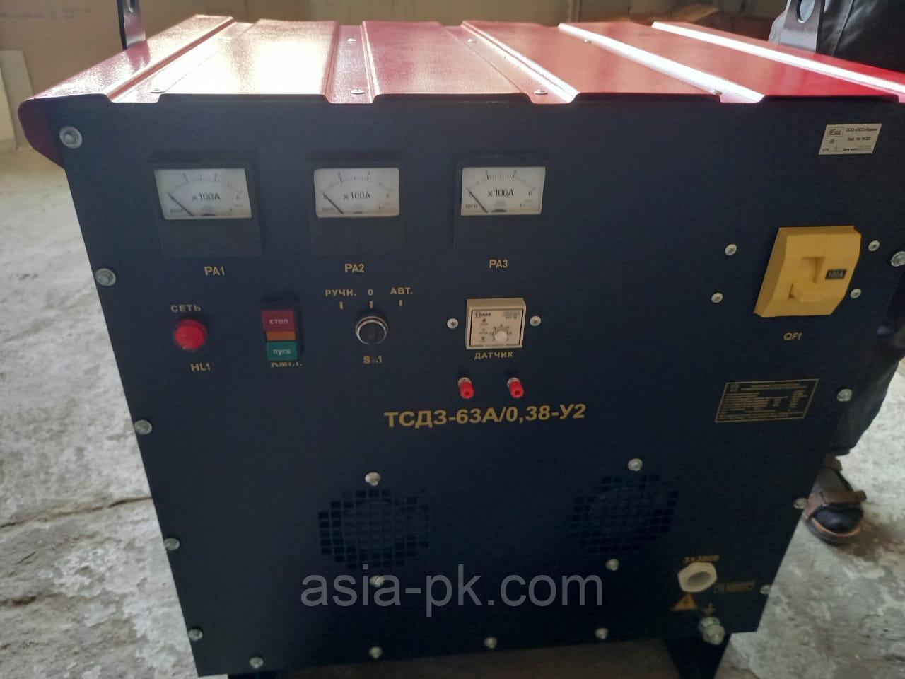 Трансформация для прогрева бетона ТСЗД-63А (с автоматикой)