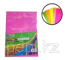 Бумага А4 ксероксная микс /5 цветов неон (100л.)