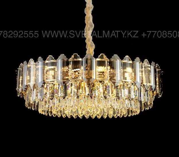 Хрустальная современная люстра на 12 ламп