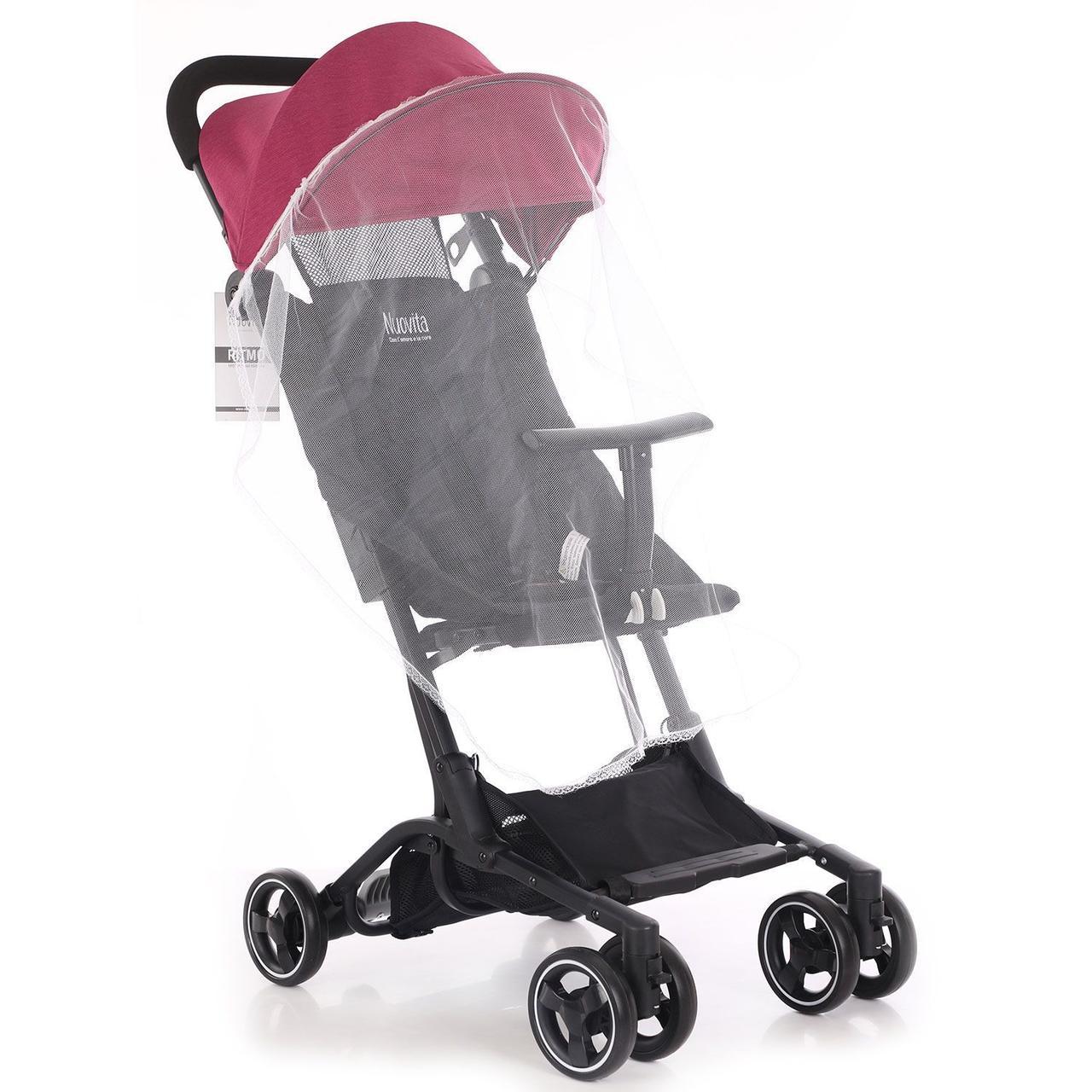 Детская прогулочная коляска MSTAR S900 красный