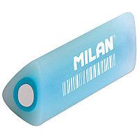 Ластик Milan F30 треугольный в сечении, прозр.пластик 51*25*25мм