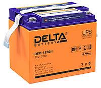 Аккумулятор Delta DTM 1233 I (12В, 33Ач), фото 1