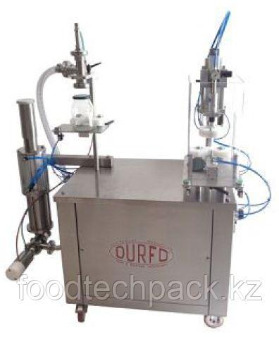 Моноблочный аппарат для дозировки и укупорки банок - DT100 - DT60  DURFO
